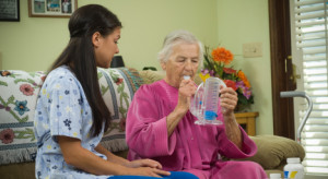 home-care-companion-with-senior-300x164 Senior Care in Roseville, CA: Avoiding Respiratory Illness