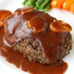 Caregiver Recipes: Salisbury Steak