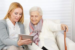 bigstock-Woman-giving-senior-woman-intr-54610931-300x200 Helping Your Senior tell Their Personal History