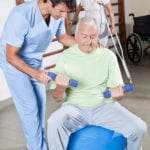 Caregiver in Fair Oaks CA: Building Muscle After a Fall